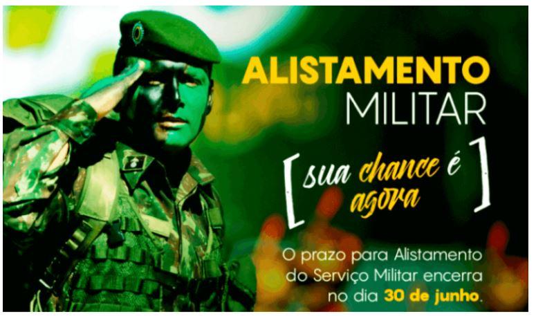 Inscrição para Alistamento Militar 2022