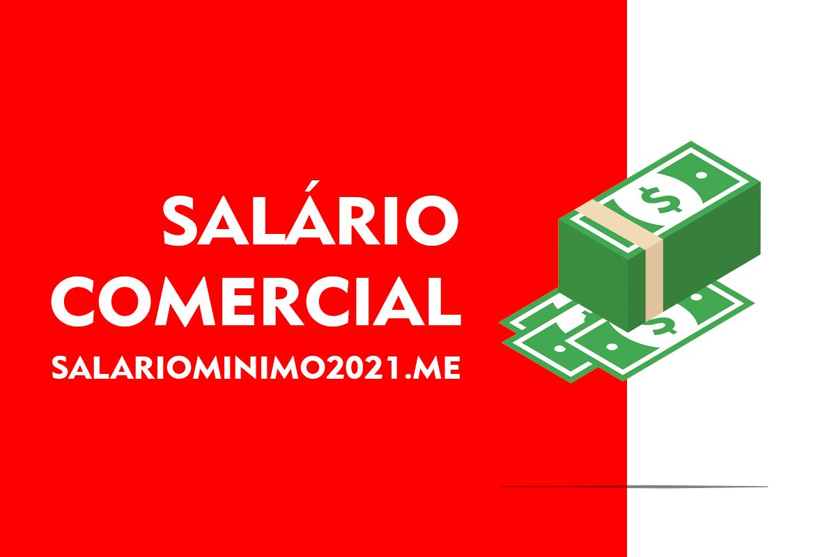 Salário Comercial 2022
